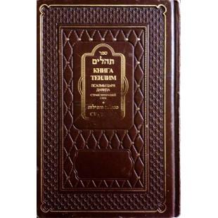 Книга Теилим. Псалмы царя Давида с транслитерацией слов. Сегулот (Букинистика)