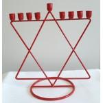 Ханукия «Маген Давид» (Ханукальный подсвечник), 20 см