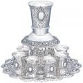 Фонтан для кидуша (8 чашечек с подносом)