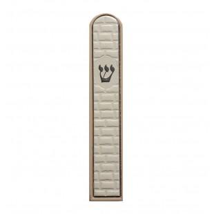 Мезуза деревянная «Стена с буквой Шин», 15 см