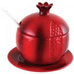 Блюдо для мёда «Красный гранат»