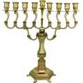 Ханукия «Золотистая» (Ханукальный подсвечник), 28 см
