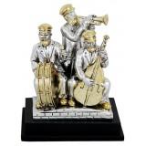 Статуэтка «Хасиды музыканты», 9 см