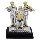 Статуэтка «Хасиды музыканты»-2, 9 см