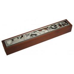 Мезуза деревянная «Иерусалим», 14 см