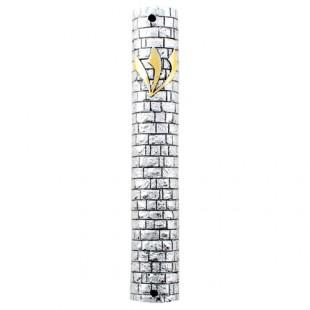 Мезуза из полирезина «Котель», 12 см