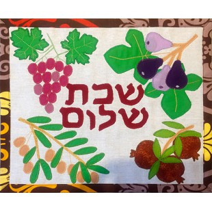 Покрывало для халы «Плоды Израиля», 30х34 см