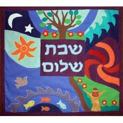 Покрывало для халы «Сотворение мира», 38х42 см