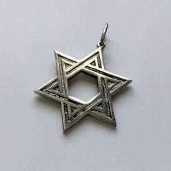 Серебряная подвеска Звезда Давида «Малая»