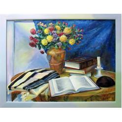 Картина «Духовная жизнь еврея» (масло)