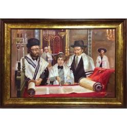Картина «Бар-мицва в Хануку» (масло)