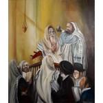 Картина «В синагоге» (масло)