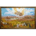 Картина «Восстановление храма в Иерусалиме» (масло)