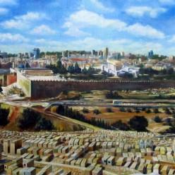 Картина «Ерушалаим» (масло)