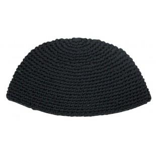 Кипа черная фрик 22 см