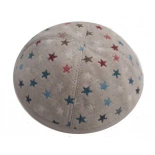 Кипа со звёздочками, 17см