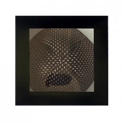Кипа атласная браун, 16 см + подарочная коробочка