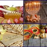 Еврейские традиции и обычаи, три категории праздников
