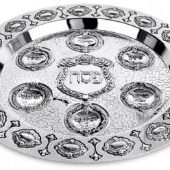 Пасхальное блюдо металлическое «Королевский дизайн», 40 см