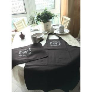 Комплект: фартук (передник)  и покрывало для халы «Шаломная семья»