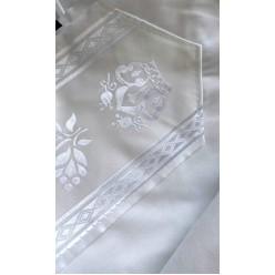Талит акрил (чёрные полосы), 140х185 см