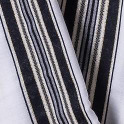 Талит шерсть (чёрные и золотые полосы), 150х185 см
