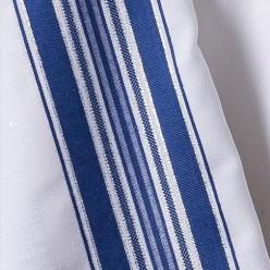 Талит шерсть (синие и серебряные полосы), 150х185 см