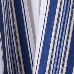 Талит шерсть (синие и золотые полосы), 150х185 см